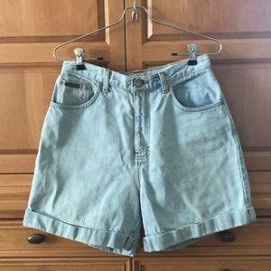 Vintage Calvin Klein 90's High-Waisted Jean Shorts